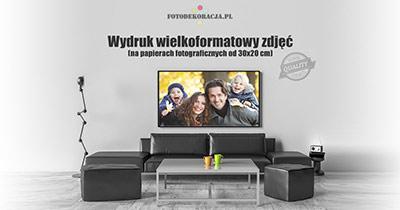 Drukowanie zdjęć duże formaty - FotoDekoracja.pl