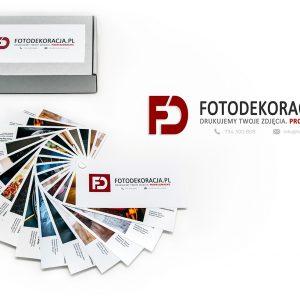 Drukarnia fotograficzna FOTODEKORACJA - próbnik 2020