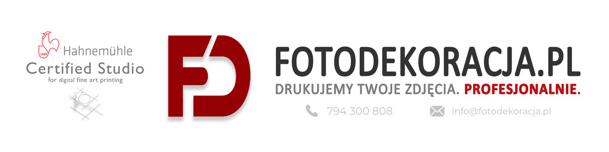 Certyfikowane Studio Hahnemuhle - fotodekoracja.pl