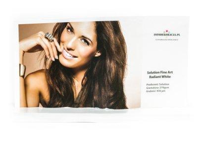 Druk pigmentowy - wydruk zdjęć w dużym formacie - Solution Fine Art Radiant White