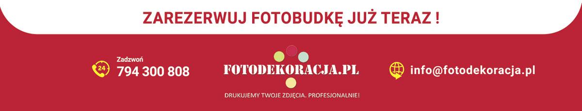 Fotobudka (wynajem) - wesela, studniówki, urodziny, imprezy integracyjne