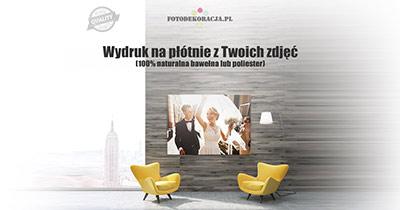 Zdjęcia na płótnie - FotoDekoracja.pl